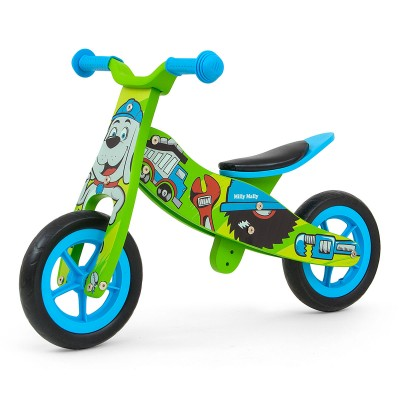Balance Bike Milly Mally BOB 2 em 1 Wood
