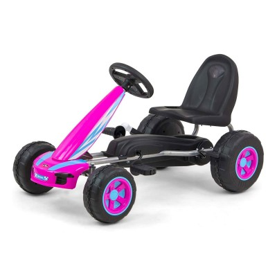 Car Pedals Milly Mally GoKart Viper Purple