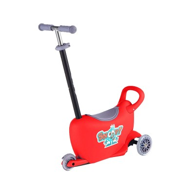 Scooter Milly Mally Snoop 3 in 1 Red