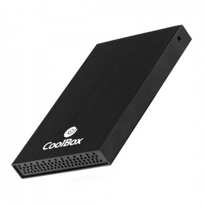 "HDD/SSD Enclosure CollBox 2.5"" SATA Aluminum Black"