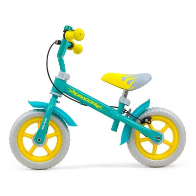 Balance Bike Milly Mally Dragon Mint Green