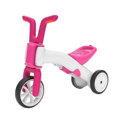 Balance Bike Bunzi 2 em 1 Pink