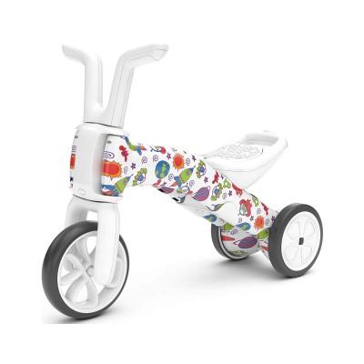 Balance Bike Bunzi 2 em 1 Monsters & Stars