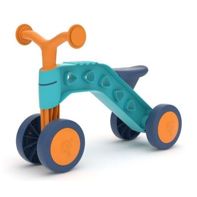 Bicicleta Andador ItsiBitsi Azul/Laranja