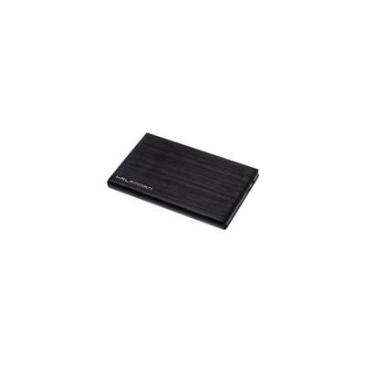 "HDD/SSD Enclosure Halfmman 2.5"" SATA Black"