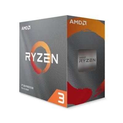 Processor AMD Ryzen 3 3100 4-Core 3.6GHz c/Turbo 3.9GHz AM4