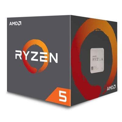 Processor AMD Ryzen 5 2600 6-Core 3.4GHz c/Turbo 3.9GHz AM4