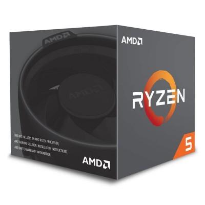 Processor AMD Ryzen 5 2600X 6-Core 3.6GHz c/Turbo 4.2GHz AM4