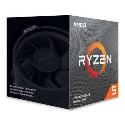 Processor AMD Ryzen 5 3600X 6-Core 3.8GHz w/Turbo 4.4GHz AM4