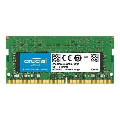 RAM Memory Crucial SO-DIMM 4GB DDR4 2666MHz CL19