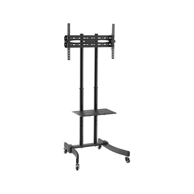"""TV Stand with Wheels Fonestar 37"""" - 70"""" Black (STS-4664N)"""