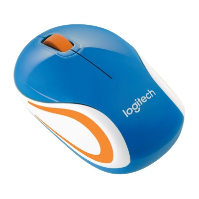 Wireless Mouse Logitech Mini Mouse M187 Blue