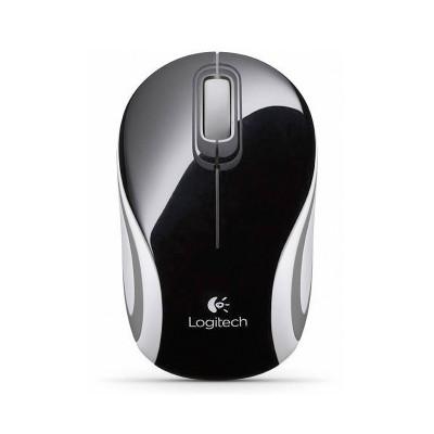 Wireless Mouse Logitech Mini Mouse M187 Black
