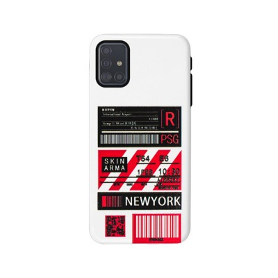 Silicone New York A716 Cover Samsung Galaxy A71