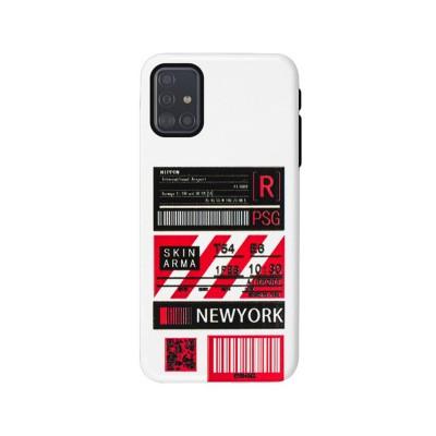 Capa Silicone Samsung Galaxy A71 New York A716
