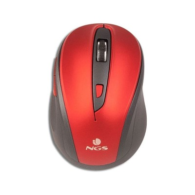 Wireless Mouse NGS Evo Mute Red