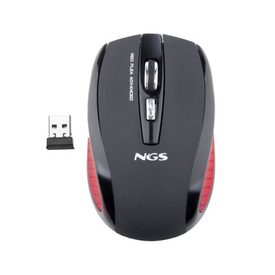 Wireless Mouse NGS Flea Advanced Black/Red