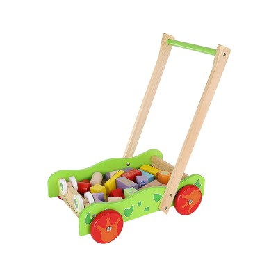 Wood Walker with Play Blocks