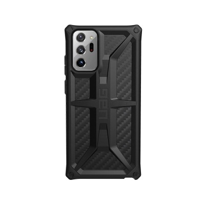 Protective Monarch Carbon Fiber Cover UAG Samsung Galaxy Note 20 Ultra N986 Black
