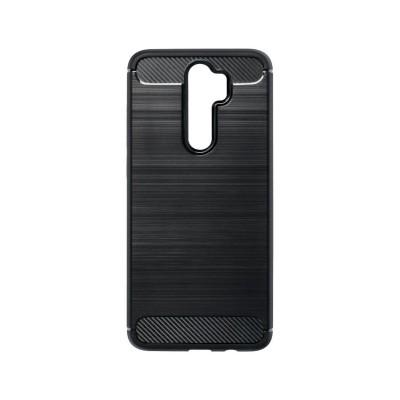 Capa Silicone Forcell Xiaomi Note 8 Pro Carbon Preta