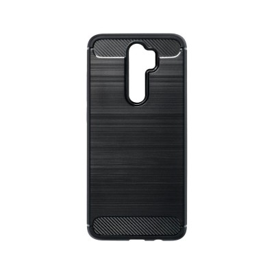 Silicone Carbon Cover Forcell Xiaomi Note 8 Pro Black