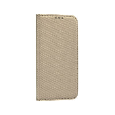 Capa Flip Cover Huawei P40 Lite Premium Dourada