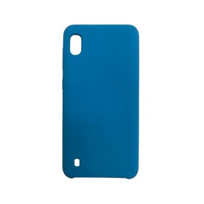 Capa Silicone Premium Samsung A10 A105 2019 Azul