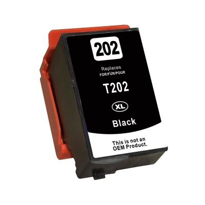 Tinteiro Compatível Epson T02G1/T02E 202 XL Preto