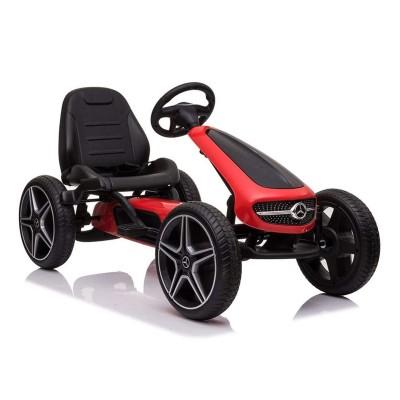 Car Pedals GoKart Mercedes XM-X610 Red