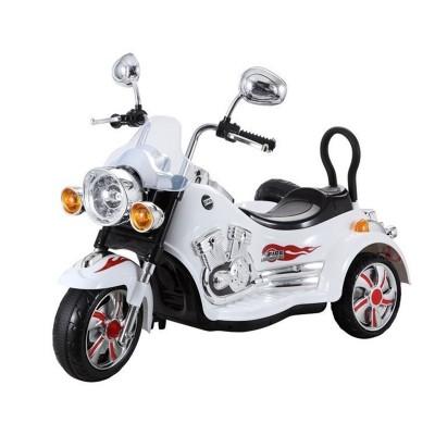 Mota Elétrica Motorbike SX-138 12V Branco