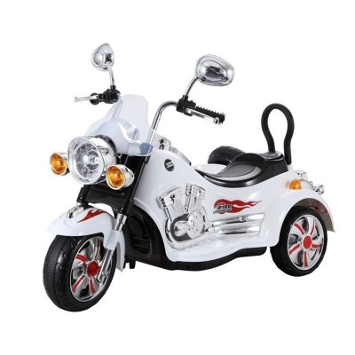 Electric Motorcycle Motorbike SX-138 12V White