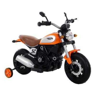 Electric Motorcycle QK307 6V Orange