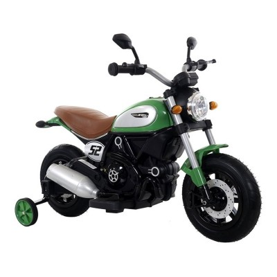 Electric Motorcycle QK307 6V Green