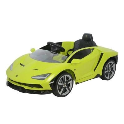 Electric car Lamborghini Centenário 12V Green