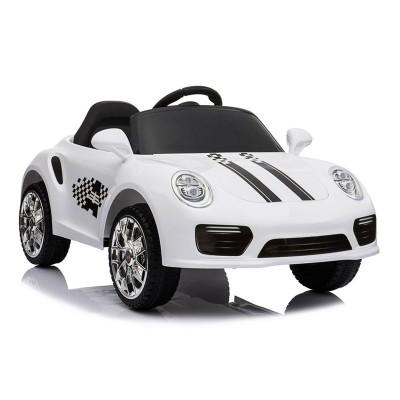Electric Car S-2988 12V White