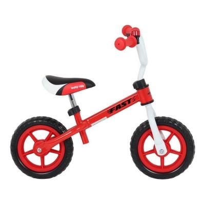 Bicicleta Equilíbrio Baby Mix Fast WB10 Vermelha