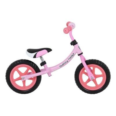 Bicicleta Equilíbrio Baby Twist WB08 Rosa