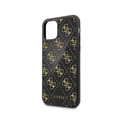 Hard Cover Bright Guess iPhone 11 Pro Black/Gold