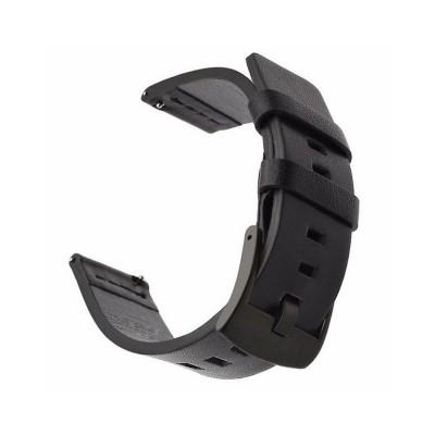 Leather Bracelet Huawei Watch GT 2 42mm Black