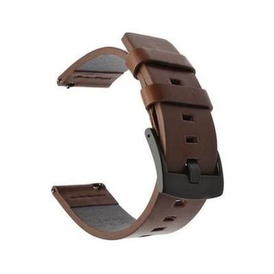 Bracelete de Pele Huawei Watch GT 2 42mm Castanha