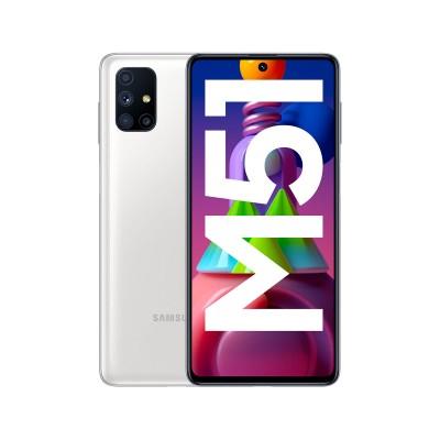 Samsung Galaxy M51 128GB/6GB Dual SIM White