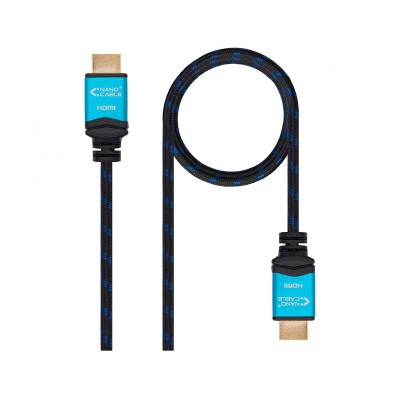 Cabo HDMI V2.0 Nanocable 4K 3D 1m (10.15.3701)