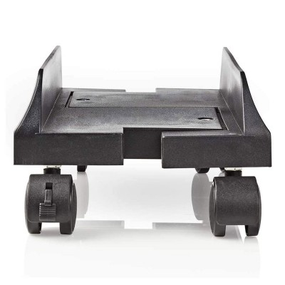 Computer Support Nedis Adjustable With Wheels Black
