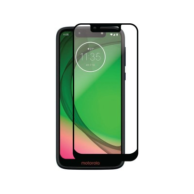 Tempered Glass Film Motorola Moto G7 Play Full Screen Black