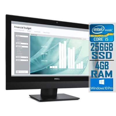 All-In-One Dell Optiplex 3240 21'' Core i5 SSD 256GB/4GB Black Recondicioned