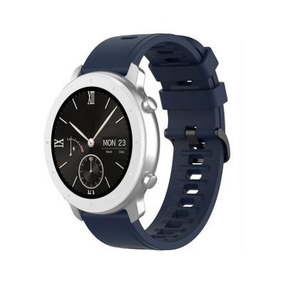 Silicone Bracelet Universal 22 mm Blue