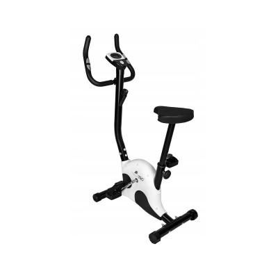 Bicicleta Estática Mechanical Stilo Preta/Branca (10015)