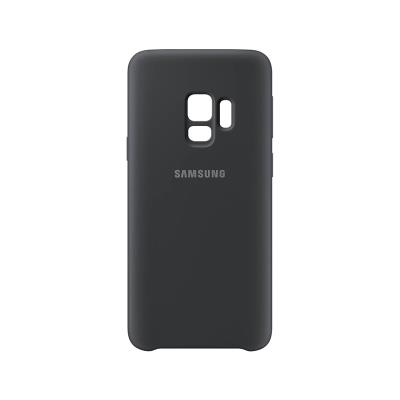 Capa Silicone Original Samsung S9 EF-PG960TBE Preta