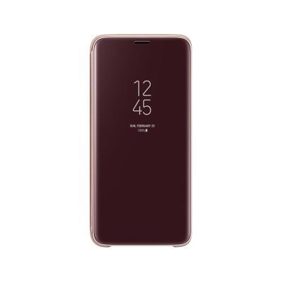 Capa Clear View Original Samsung S9 Dourada (EF-ZG960CFE)