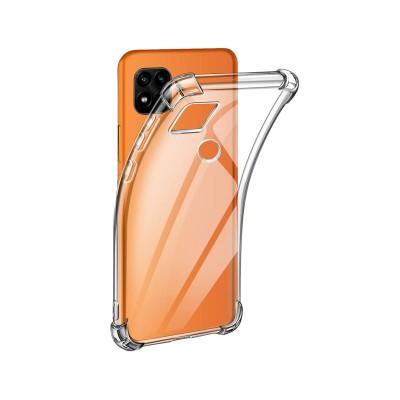 Reinforced Silicone Cover Xiaomi Redmi 9C Transparent